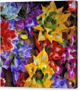 Bouquet Of Flowers Acrylic Print