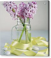 Bouquet Of Hyacinth Acrylic Print