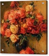 Bouquet Of Roses 1900 Acrylic Print