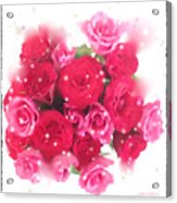 Bouquet Of Roses Acrylic Print