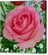Bouquet Rose Acrylic Print