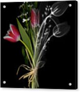 Bouquet X-ray Acrylic Print