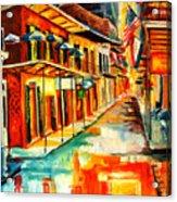 Bourbon Street Blitz Acrylic Print