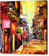 Bourbon Street Dazzle Acrylic Print