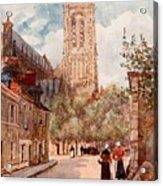 Bourges Acrylic Print