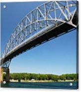 Bourne Bridge  Cape Cod Acrylic Print by Mark Wiley
