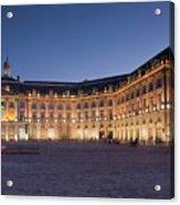 Bourse Square, Bordeaux Acrylic Print