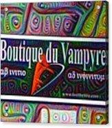 Boutique Du Vampyre -  New Orleans Acrylic Print