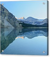 Bow Lake Panorama Acrylic Print