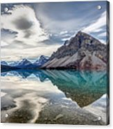 Bow Lake Sky Acrylic Print