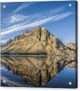 Bow Lake Sunrise Banff National Park Alberta  Canada  Acrylic Print