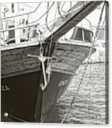Bow Of The Boat Acrylic Print