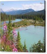 Bow River Banff National Park Canada Acrylic Print