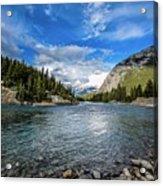 Bow River Alberta Acrylic Print