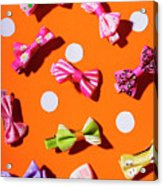 Bow Tie Party Acrylic Print
