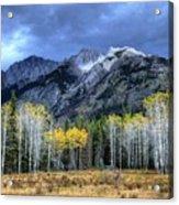 Bow Valley Parkway Banff National Park Alberta Canada II Acrylic Print
