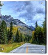 Bow Valley Parkway Banff National Park Alberta Canada Vi Acrylic Print