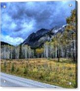 Bow Valley Parkway Banff National Park Alberta Canada Acrylic Print