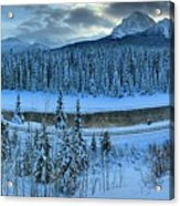 Bow Valley River Giant Panorama Acrylic Print