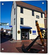 Bowen's Wharf Newport Rhode Island Acrylic Print