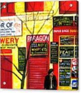 Bowery Acrylic Print
