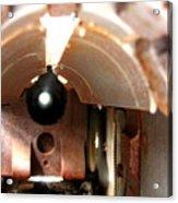 Bowfin Submarine 22mm Deck Gun Acrylic Print