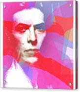 Bowie 70s Chic  Acrylic Print