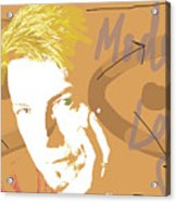 Bowie Modern Love  Acrylic Print