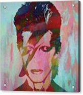 Bowie Reflection Acrylic Print