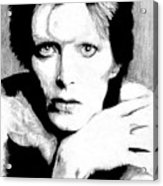 Bowie Acrylic Print