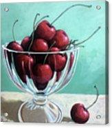 Bowl Of Cherries Acrylic Print