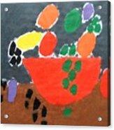 Bowl Of Fruit Acrylic Print