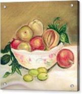 Bowl Of Renoir Acrylic Print
