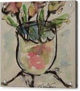 Bowl Vase Acrylic Print