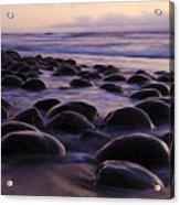 Bowling Ball Beach California 2 Acrylic Print