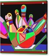 Bowling Sports Fans Decoration Acrylic Fineart By Navinjoshi At Fineartamerica.com  Down Load  Jpg F Acrylic Print