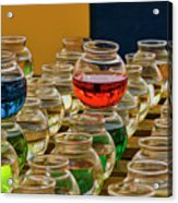 Bowls Full Of Color Acrylic Print