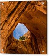 Bowtie Arch Near Arches National Park - Utah Acrylic Print