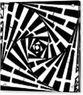Box In A Box Maze Acrylic Print