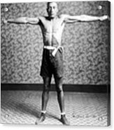 Boxing. Boxer Tut Jackson, Ca. 1922 Acrylic Print by Everett