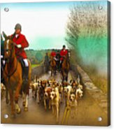 Boxing Day Hunt Acrylic Print