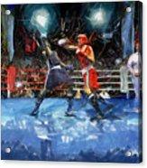 Boxing Night Acrylic Print