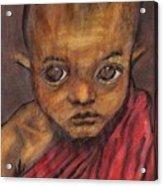 Boy In Burma Acrylic Print