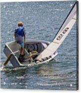 Boy Sailing Acrylic Print