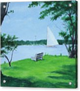 Boy Scout Island Acrylic Print