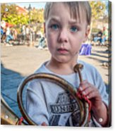Boy With A Horn _ Nola Acrylic Print