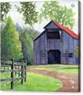 Boyd Mill Barn Acrylic Print