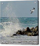 Boynton Beach High Tide Acrylic Print