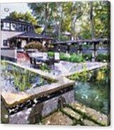 Boynton House Oil Painting Acrylic Print