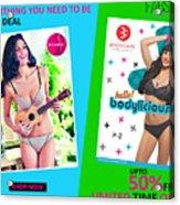 Bra Shop Online Acrylic Print
